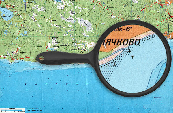 Смолячково - прибрежная часть Финского залива