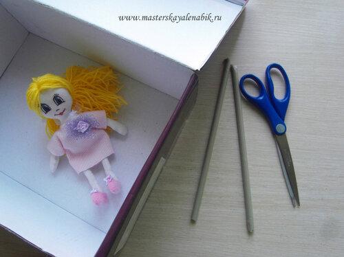 Кукольный домик своими руками. Мастер-класс