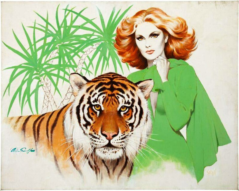 """Схема вышивки  """"женщина и кошка """".  Близнецы.  Теги.  Podushka.  Гамма, 60 цветов.  Портал  """"Вышивка крестом """"."""