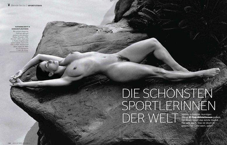 Playboy Germany, август 2012 / Katarina Witt / Катарина Витт - фигурное катание