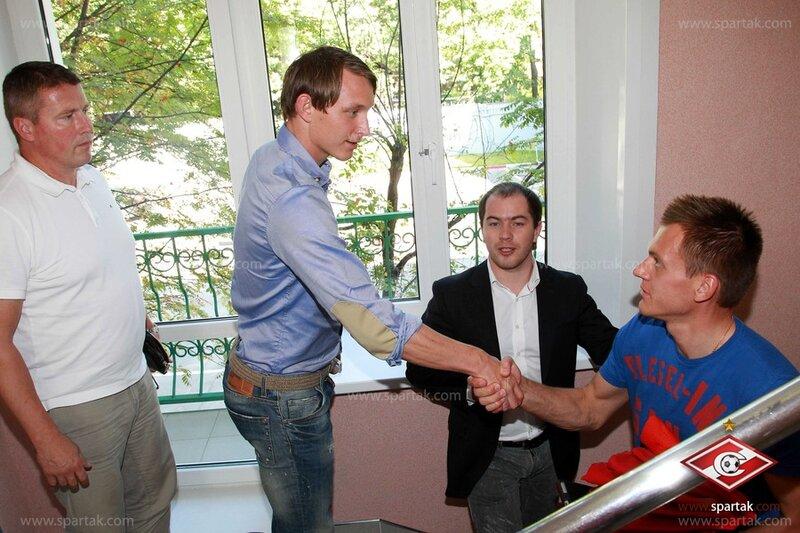 Первая тренировка в «Спартаке» Чельстрема и Инсаурральде (Фото)