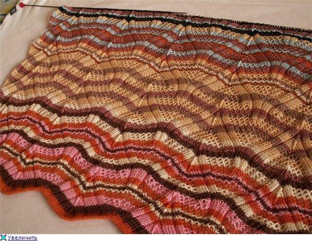 Теги: вязание спицы узоры схемы зигзаг миссони.