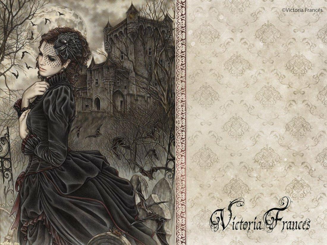 год открытка в готическом стиле рисунки этой странице