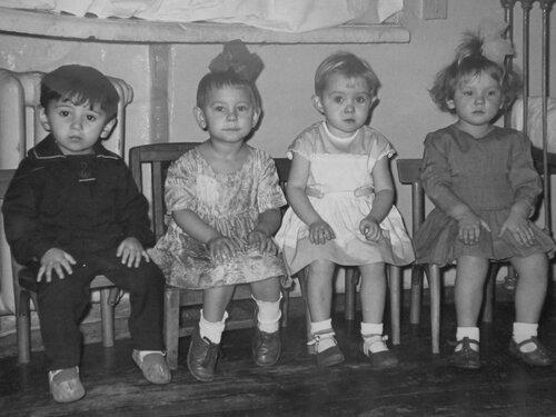 старые фото детский сад дети