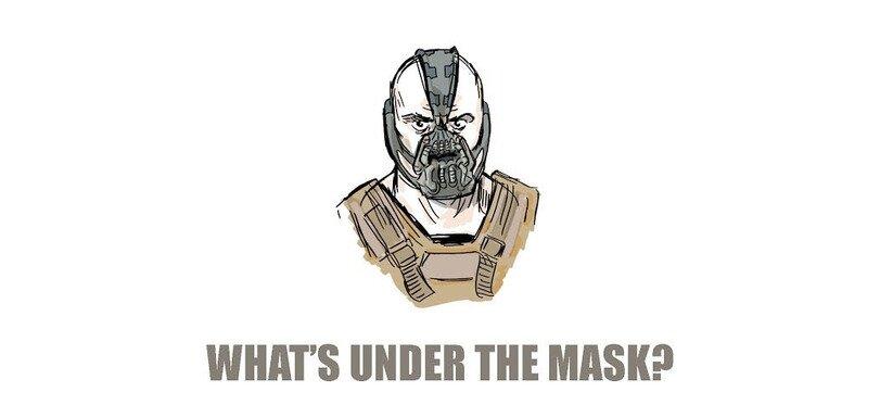 Что скрывается под маской злодея Бэйна?