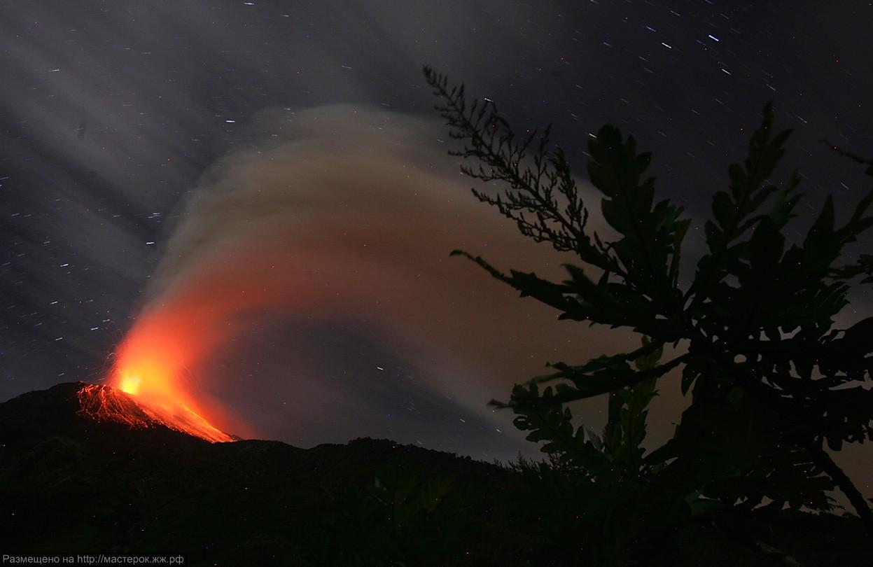 Вулканические катастрофы прошлого и текущего года