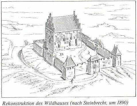 Реконструкция внешнего облика замка
