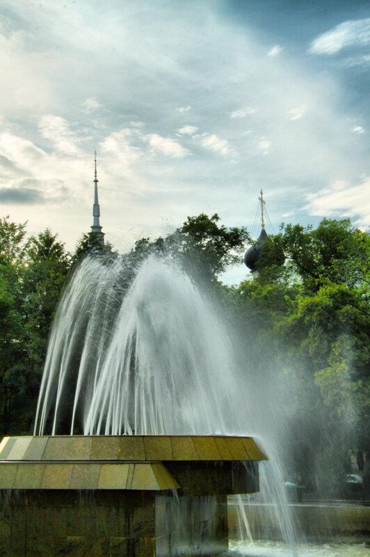 Городской водопад