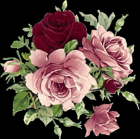 Винтаж картинки цветы