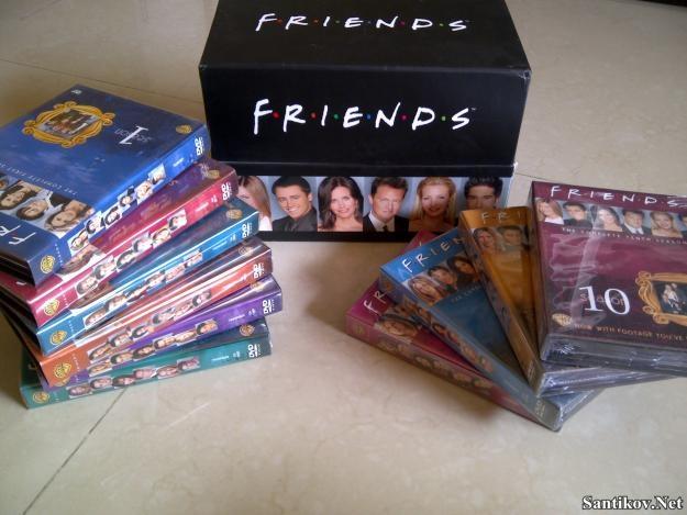 Друзья  (сериал) / Friends (1994-2004/DVDRip)
