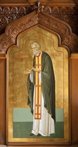роспись храма серафима саровкого, иконописная мастерская Андреева, http://n-dl.com/