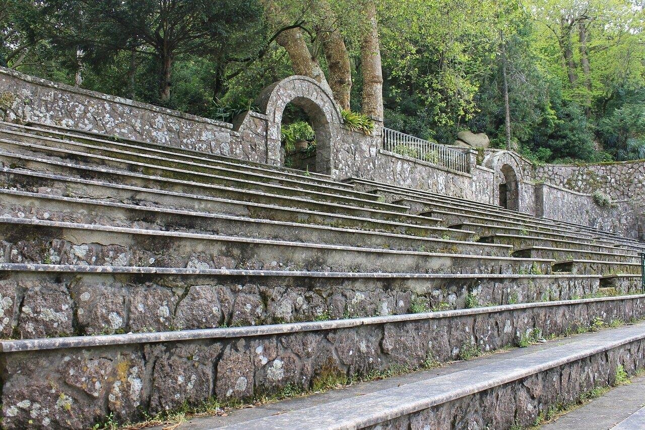Синтра. Парк Свободы. Римский театр. Parque da Liberdade. Teatro romano