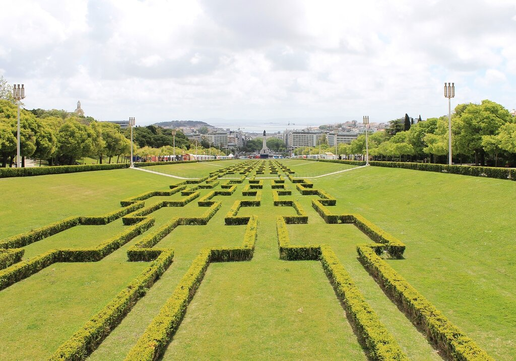 Lisbon, Park Eduardo VII (Parque Eduardo VII)