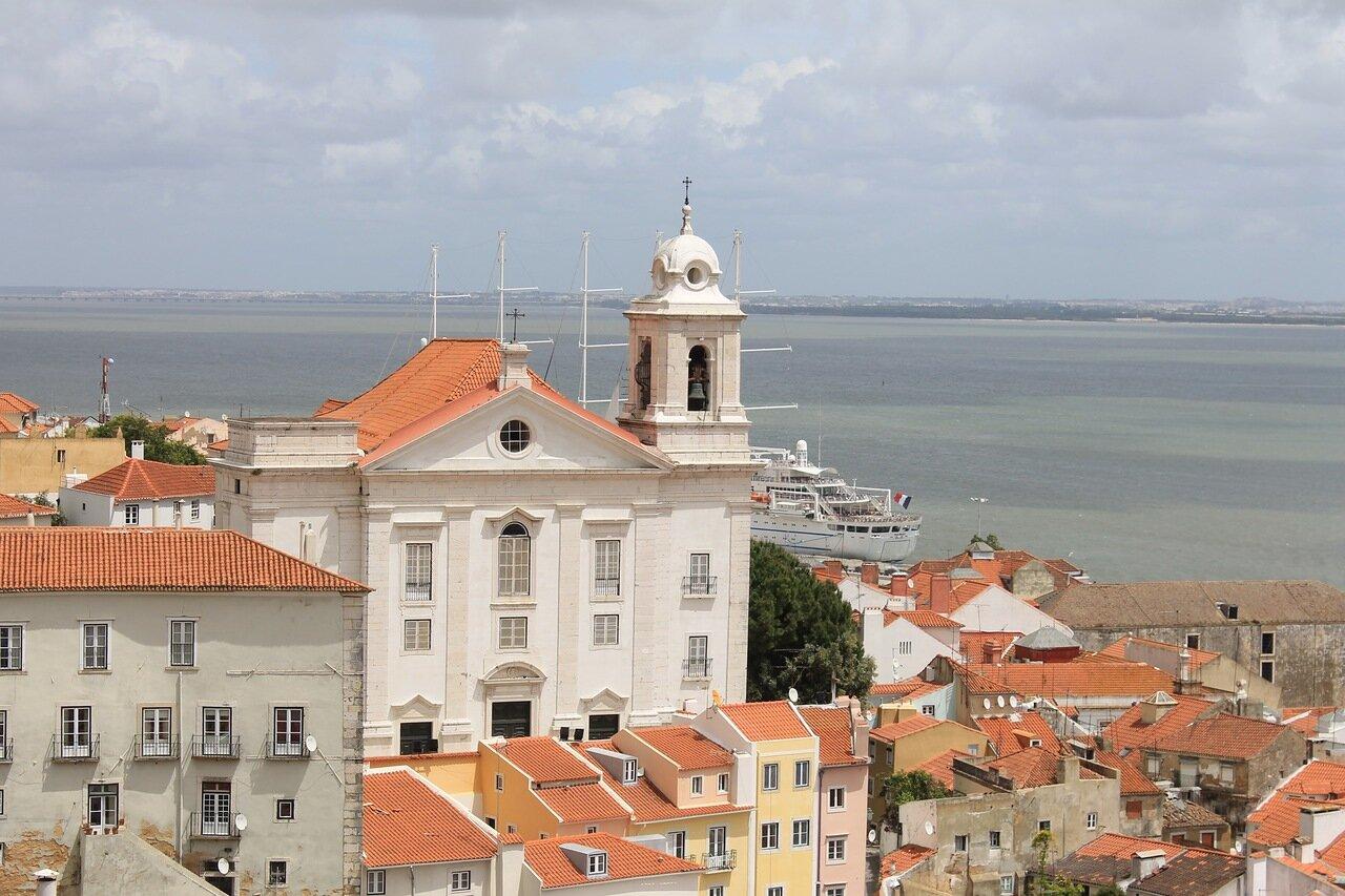 Lisbon. Church of Santo estevão (Igreja de Santo Estêvão)