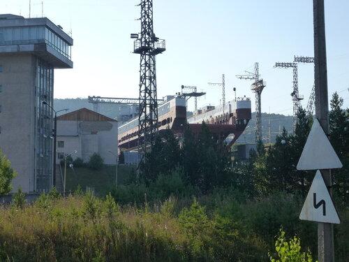 Красноярская ГЭС Судоподъемник