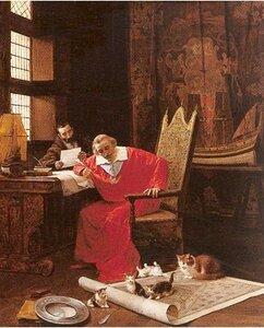 Анна Австрийская и кардинал Ришелье.Как кошка погубила любовь