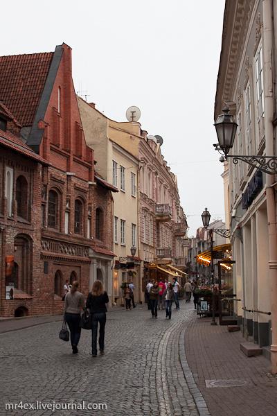 Вильнюс, Старый город, ул. Пилес