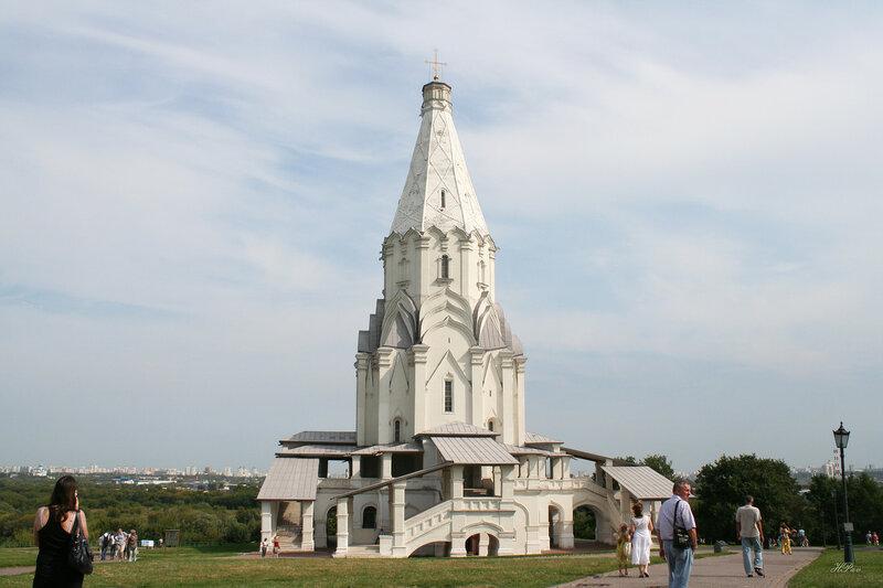 Церковь Вознесения Господня, усадьба Коломенское