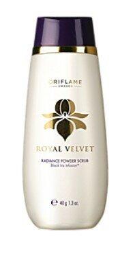 Royal Velvet Radiance Powder Scrub Очищающий скраб для лица «Королевский бархат»