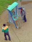 Авиаторов 12 реконструкция детской площадки