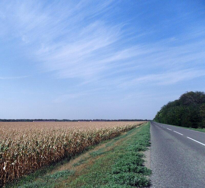 Дорога через Бородинскую, 3 августа 2012