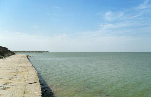 На Азовском побережье хутора Морозовского, 3 августа 2012