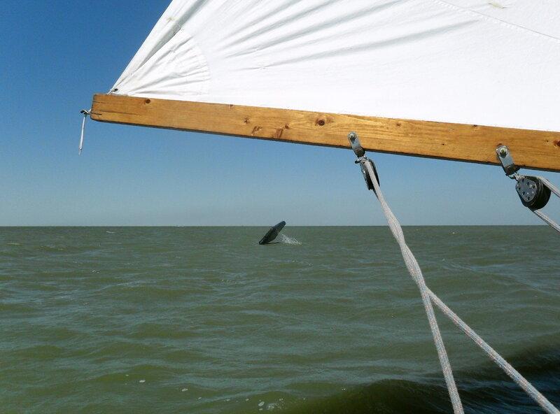 В море, у берегов Приморско-Ахтарска