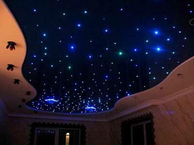 Натяжной потолок Звездное небо.