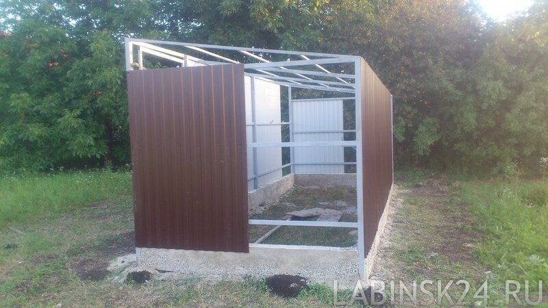 Построить сарай для частного дома