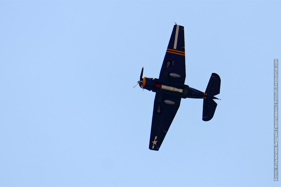Торпеда в брюхе Авенджера. 100 лет ВВС