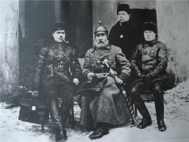 Photo of Bogdan Vasko, commander of the Red Army detachment near Ufa, 1918. He was later killed by Makhnovists in 1921.