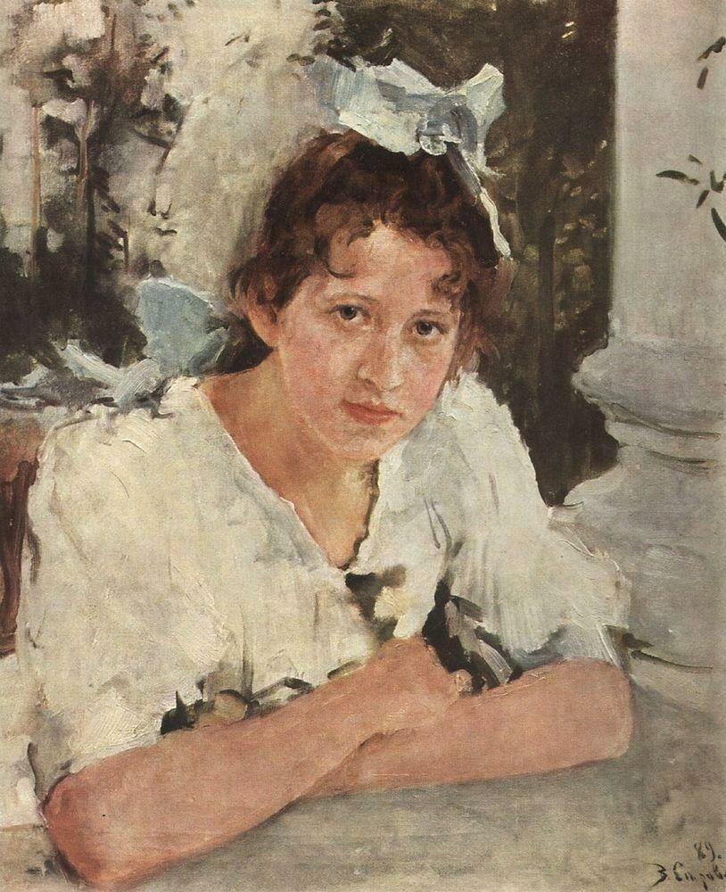 Портрет П.А.Мамонтовой, 1889