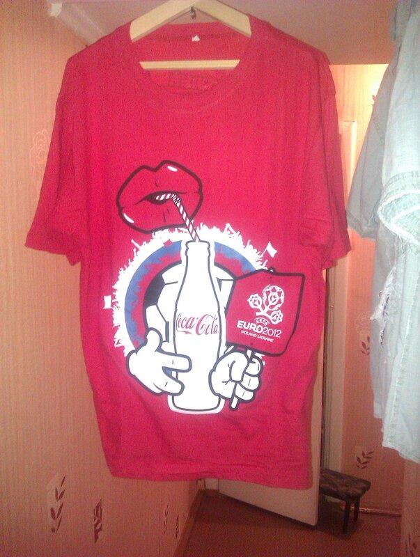 футболка Coca-Cola