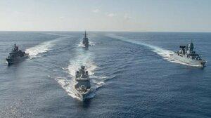 Российские военные корабли вторглись в воды Украины