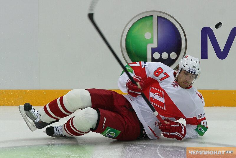 ЦСКА vs «Спартак» 0:1 чемпионат КХЛ 2012-2013 (Фото)