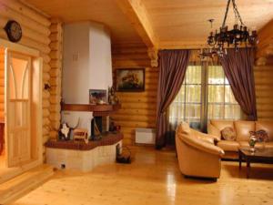 Дом из бревна. Эстетика и дизайн.