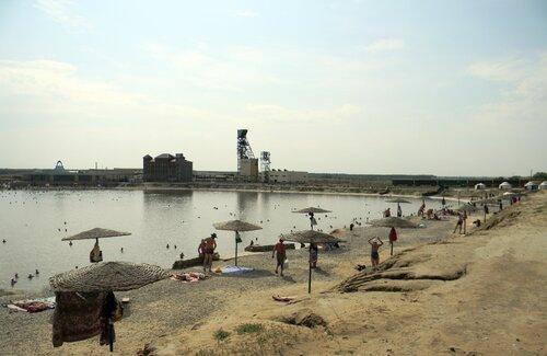 Озеро Развал -жемчужина Оренбургских степей
