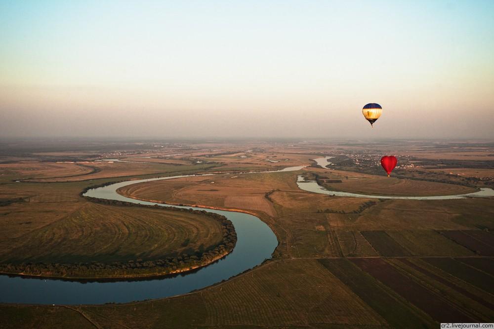Фестиваль воздухоплавания в Рязани