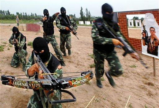 China Anti-terrorism Drill