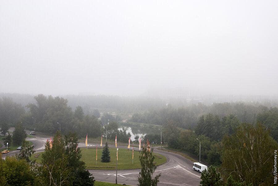 ТЭЦ в тумане