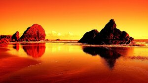 The Sunset...