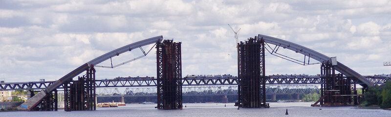 Днепр и ПВ-мост - 11.08.2012