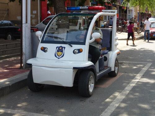 китайская полицейская машинка электромобиль