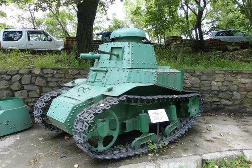 Французская танкетка времен Первой Мировой