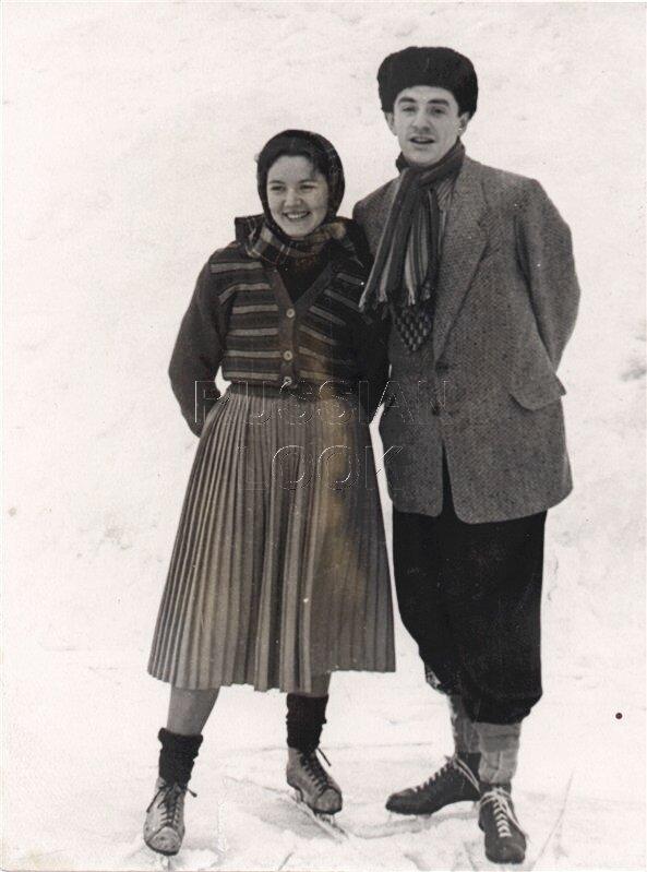 Марк Захаров с женой Ниной