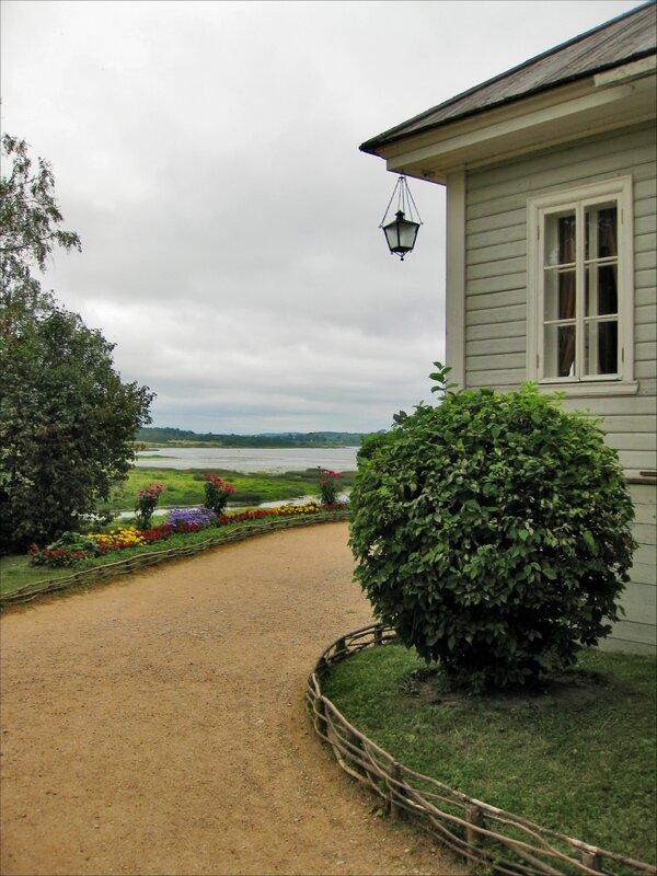 Пушкиногорье михайловское вид на оз