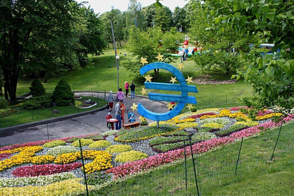 Начало экспозиции выставки цветов