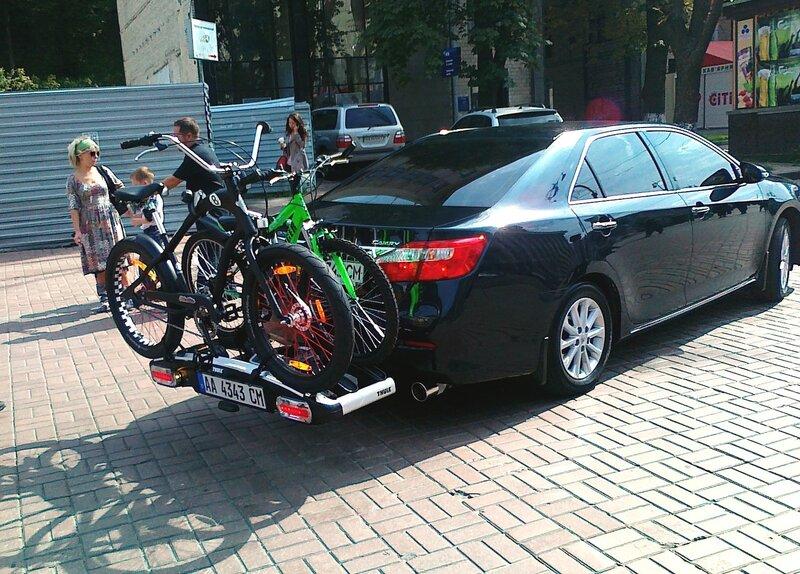 Транспортировка велосипедов