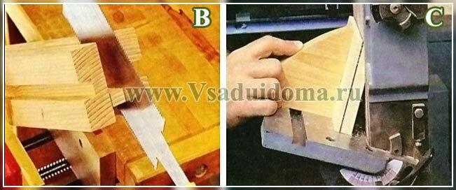 арка для плетущихся роз - схемы и фото