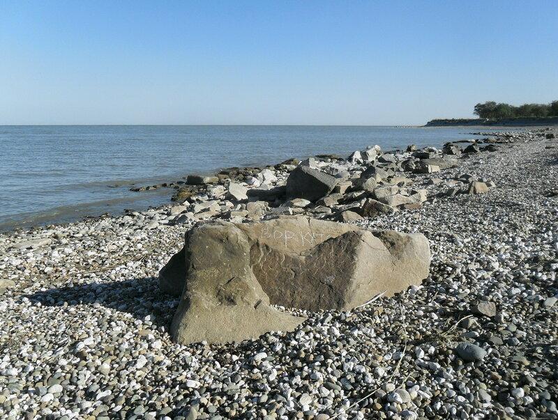 У моря, сентябрь 2012
